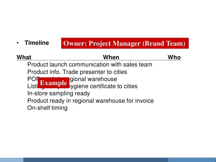 product launch plan template