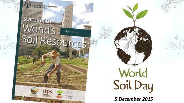 Status of the world s soil resources for What is soil resources
