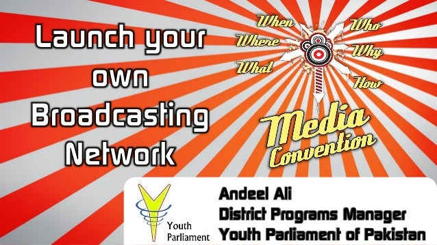 Andeel Ali District Programs Manager Youth Parliament of Pakistan