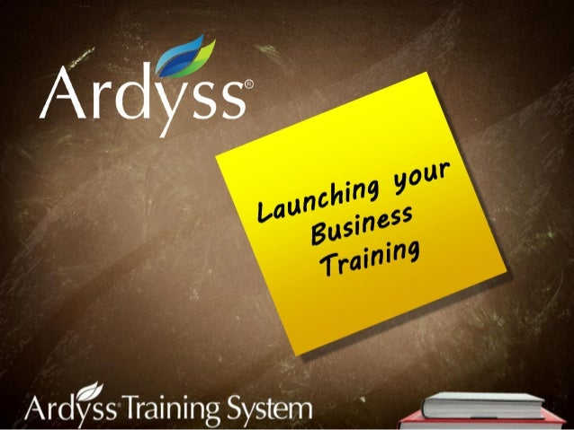 Launch your business training