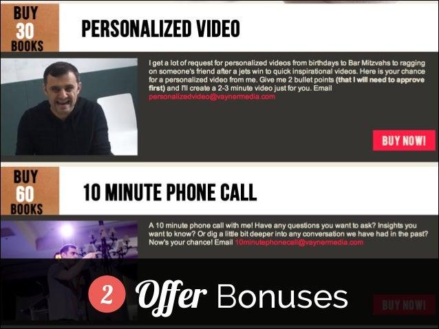 2  Offer Bonuses