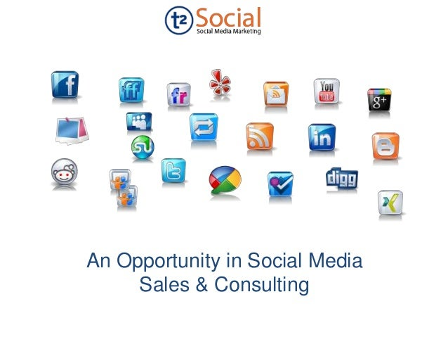 An Opportunity in Social Media Sales & Consulting