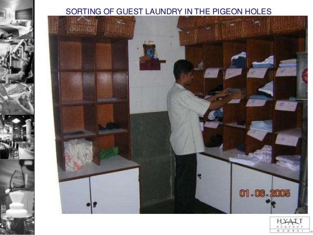 Linen Room In Hotel