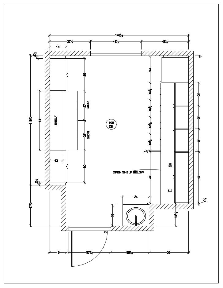 Laundry Room Floor Plan