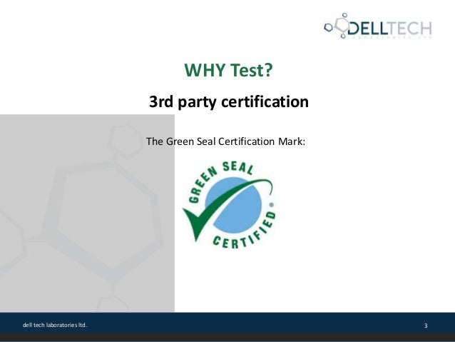 Laundry Care Products Performance Testing Slide 3