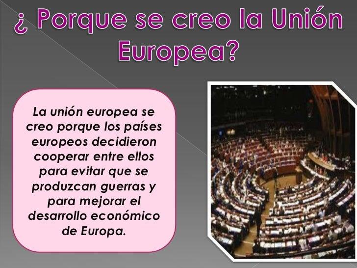 La union europea for Cuando se creo la arquitectura