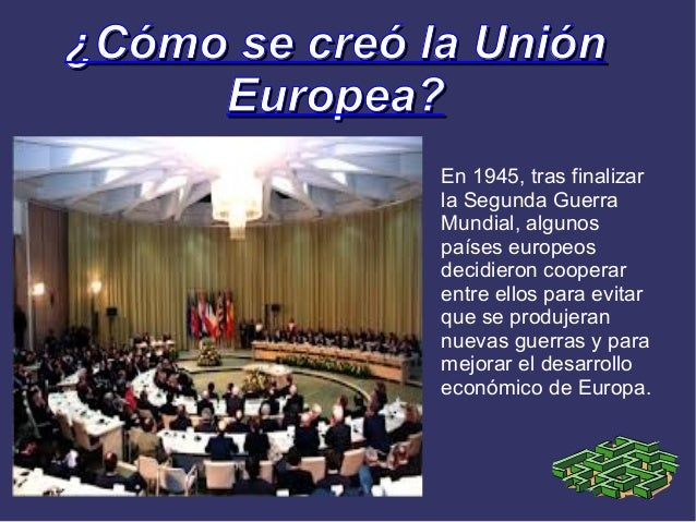 La union europea for Como se creo el suelo