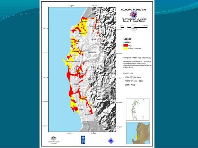 La Union Pdrrmc Presentation - Launion map