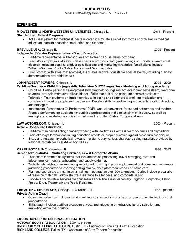 Laura wells-resume-2013-educator