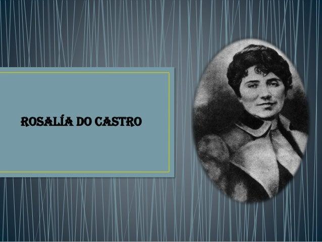 Rosalía do castro