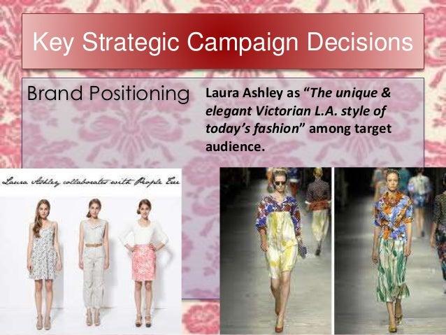 laura ashley target market