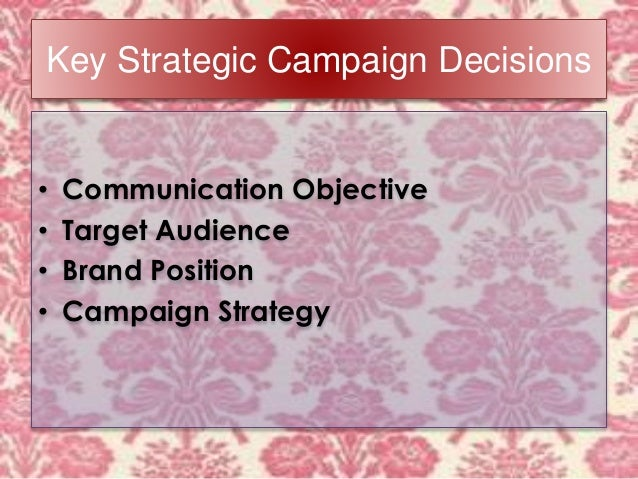 marketing communications campaign Marketing communications is a simple concept it ensures that all forms of communications and messages are carefully linked together.