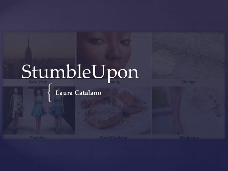 StumbleUpon  {   Laura Catalano