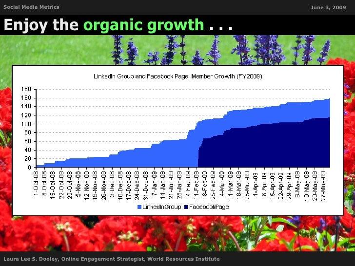 Social Media Metrics                                                           June 3, 2009    Enjoy the organic growth . ...