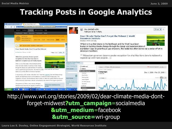 Social Media Metrics                                                           June 3, 2009                 Tracking Posts...