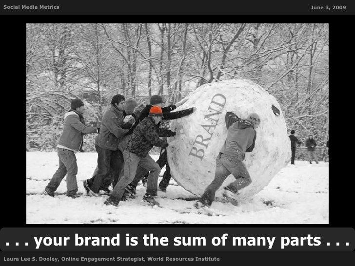 Social Media Metrics                                                           June 3, 2009     . . . your brand is the su...