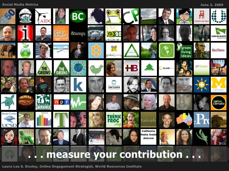 Social Media Metrics                                                           June 3, 2009                   . . . measur...
