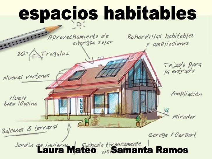 espacios habitables Laura Mateo  Samanta Ramos