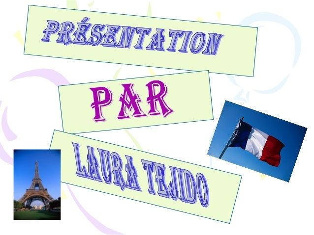 • Je m'appelle Laura et j'ai 12 ans. • Je suis espagnole et j'habite à Illescas.Á l'ecole,j'aime surtout le français, les ...