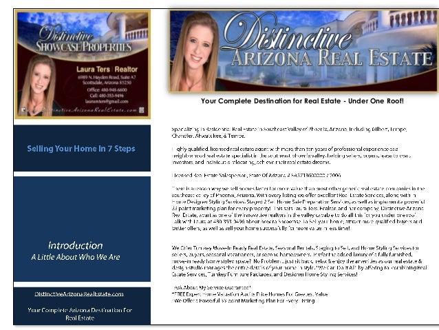 laura ters  distinctive arizona real estate  seller