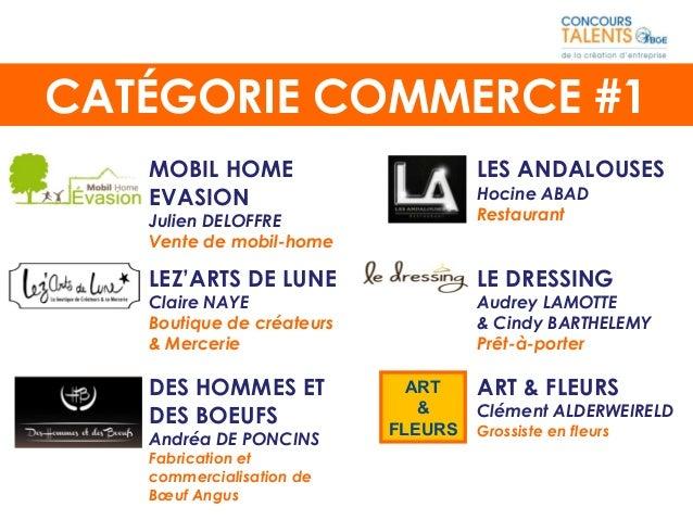 MOBIL HOME EVASION Julien DELOFFRE Vente de mobil-home LEZ'ARTS DE LUNE Claire NAYE Boutique de créateurs & Mercerie CATÉG...