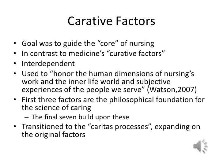 10 carative factors jean watson