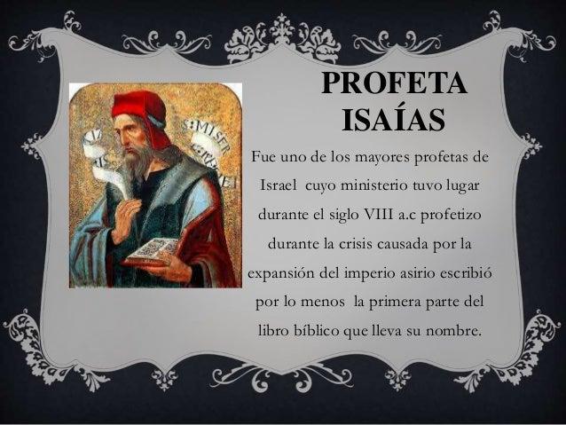 profetas biblicos