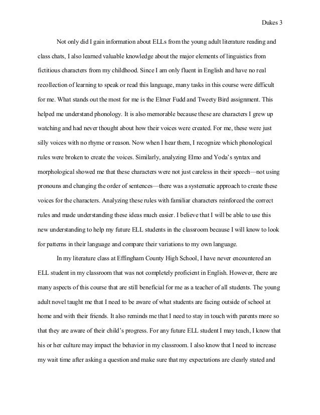 Essays On Science  Essay On Terrorism In English also Thesis Statement For A Persuasive Essay Lauren Dukes Reflective Essayesed G English As A Second Language Essay