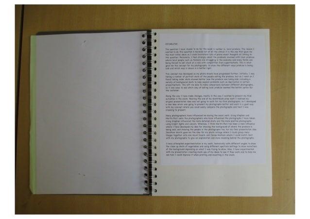 Lauren North - AS Photography Art2 sketchbook (B grade)