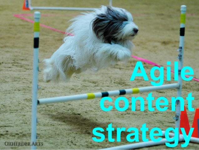 Agile contentstrategy