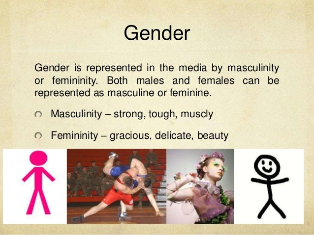 how is gender represented in the media