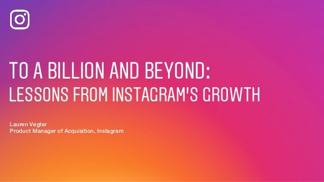 To A Billion And Beyond Insights Froms Growth By Lauren Vegter