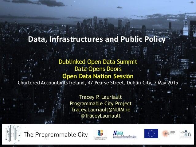 Dublinked Open Data Summit Data Opens Doors Open Data Nation Session Chartered Accountants Ireland, 47 Pearse Street, Dubl...