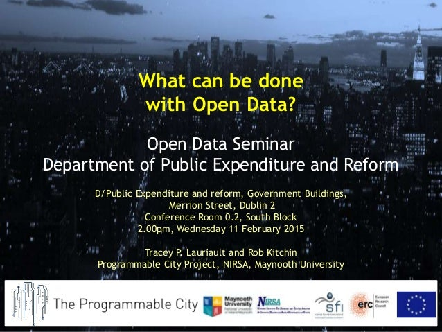 D/Public Expenditure and reform, Government Buildings, Merrion Street, Dublin 2 Conference Room 0.2, South Block 2.00pm, W...