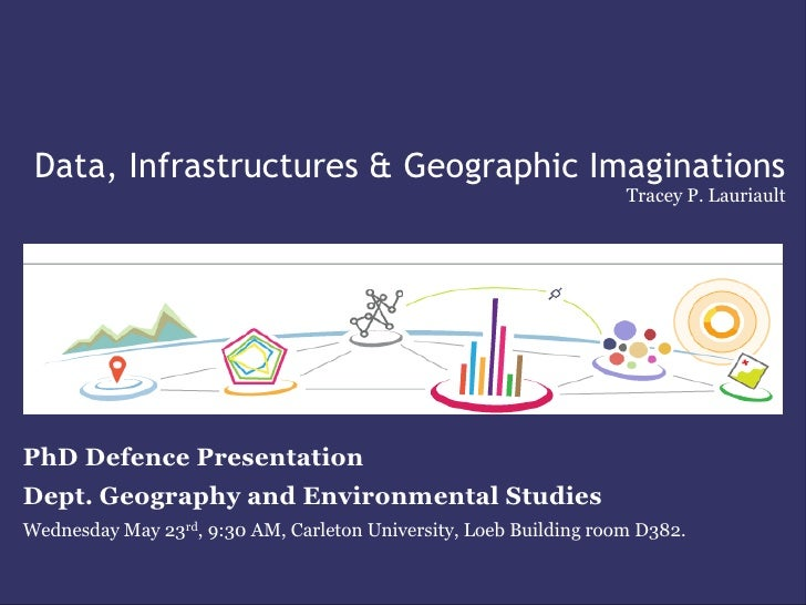 Data, Infrastructures & Geographic Imaginations                                                                   Tracey P...