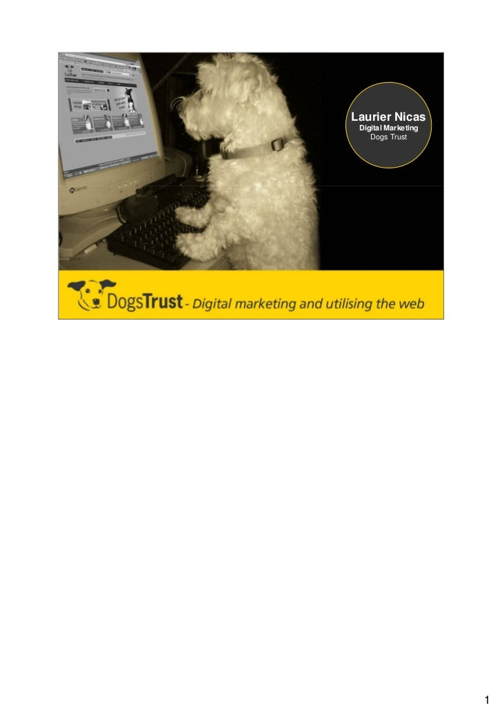 Laurier Nicas Digital Marketing    Dogs Trust                     1