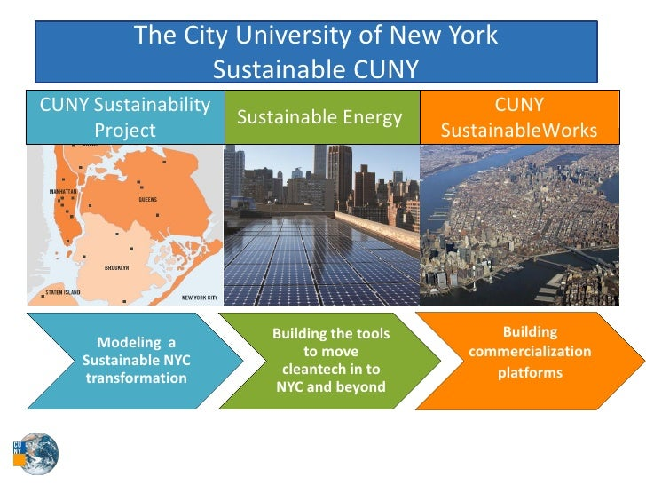 The City University of New York                      Sustainable CUNY CUNY Sustainability                       ...