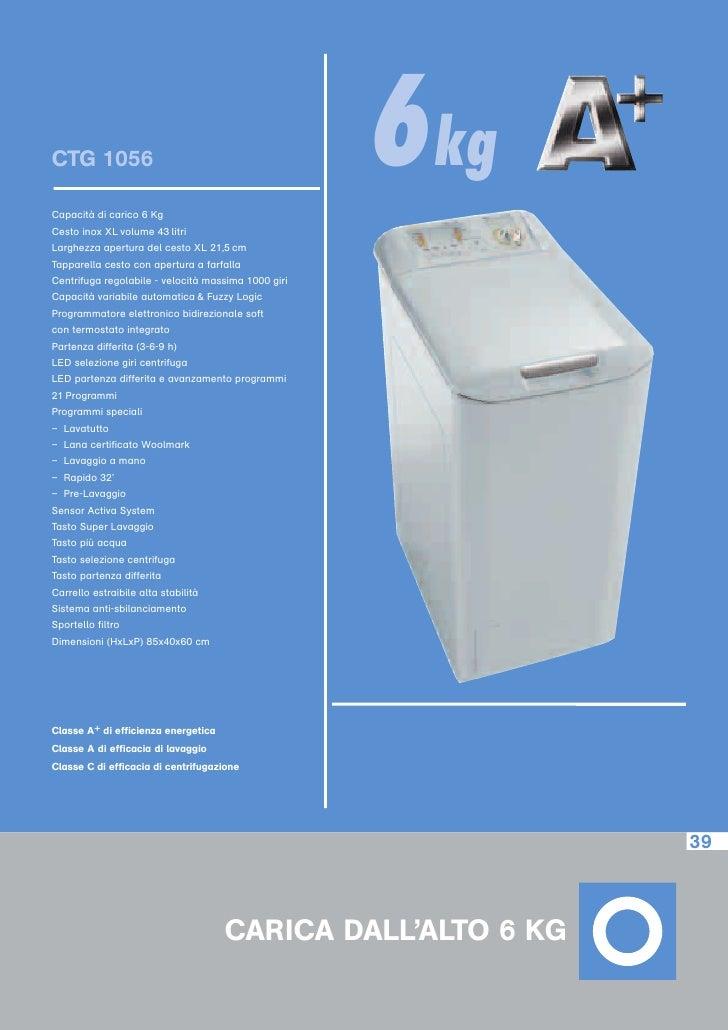 Lavabiancheria carica alto for Lavatrice carica dall alto 8 kg