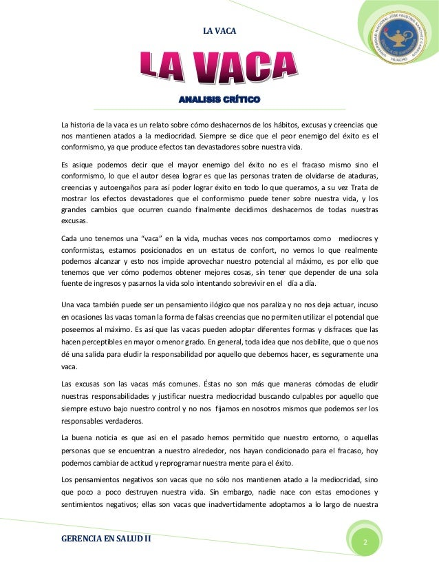 LA VACA                                                                                                      2012         ...