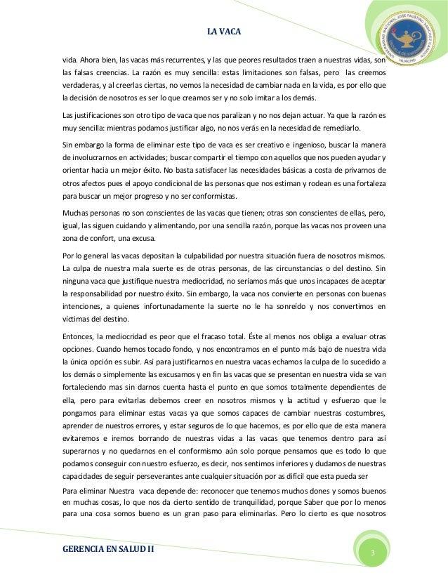 LA VACA                                                                                                        2012vida. A...