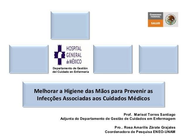Prof. Marisol Torres Santiago Adjunta do Departamento de Gestão de Cuidados em Enfermagem Pro.. Rosa Amarilis Zárate Graja...