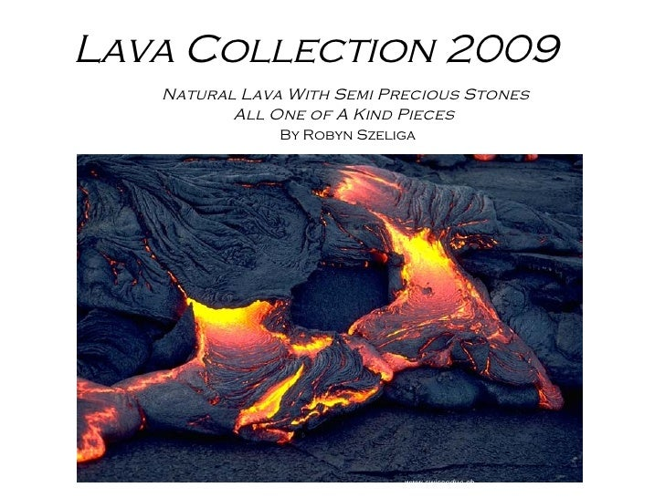 Lava Collection 2009 Natural Lava With Semi Precious Stones All One of A Kind Pieces By Robyn Szeliga   www.swisseduc.ch