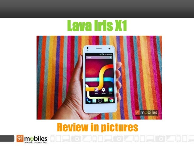 Lava Iris X1 Review in pictures