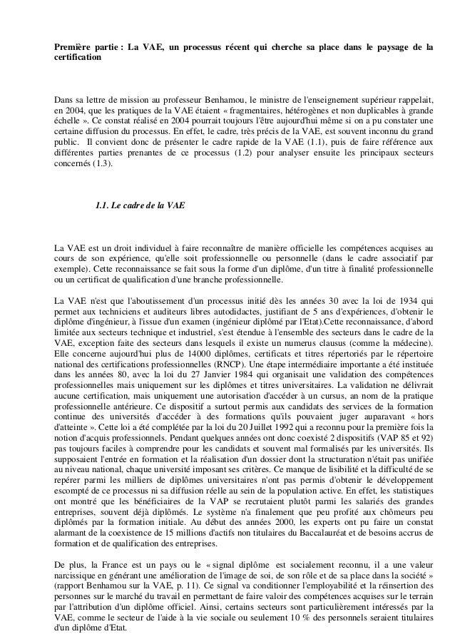la validation des acquis de lexp u00e9rience jacquet