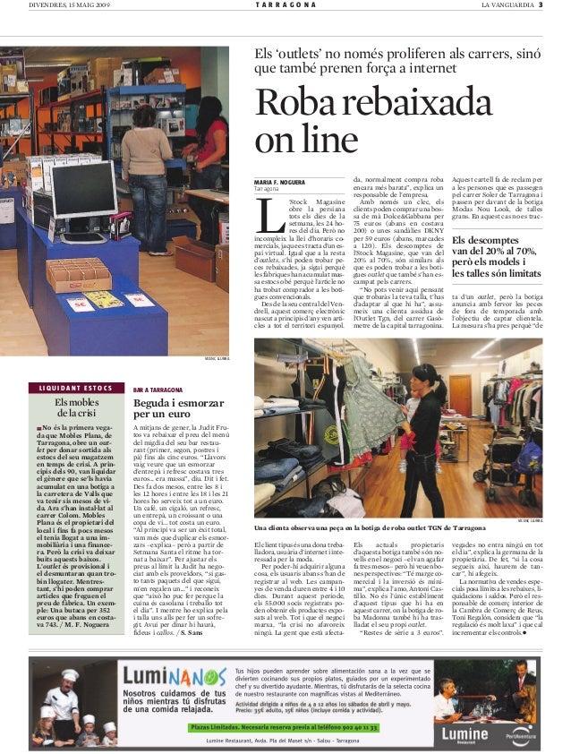 La Vanguardia. Articles. Economia