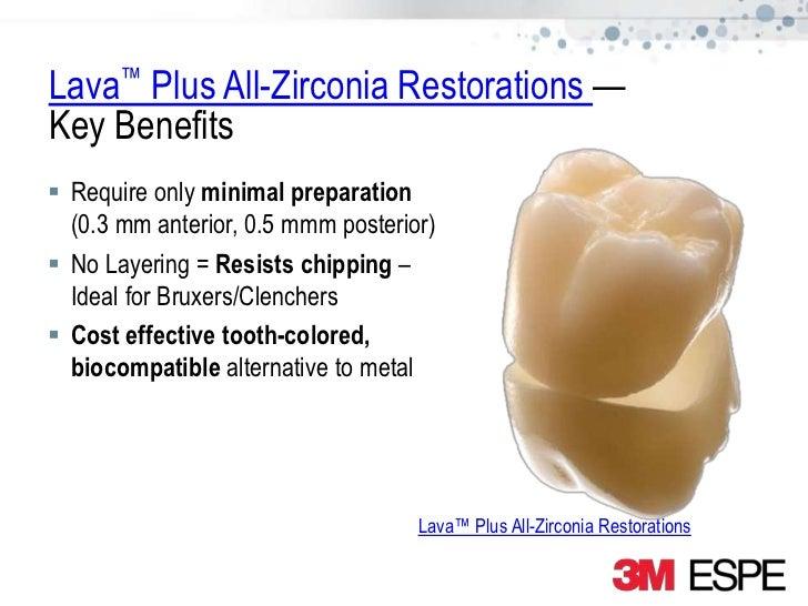 Lava Plus High Translucency Zirconia