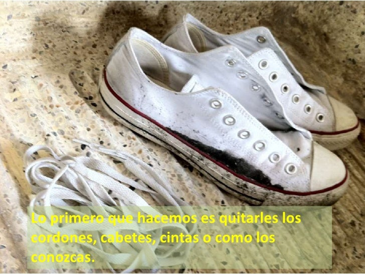 lavar zapatillas vans