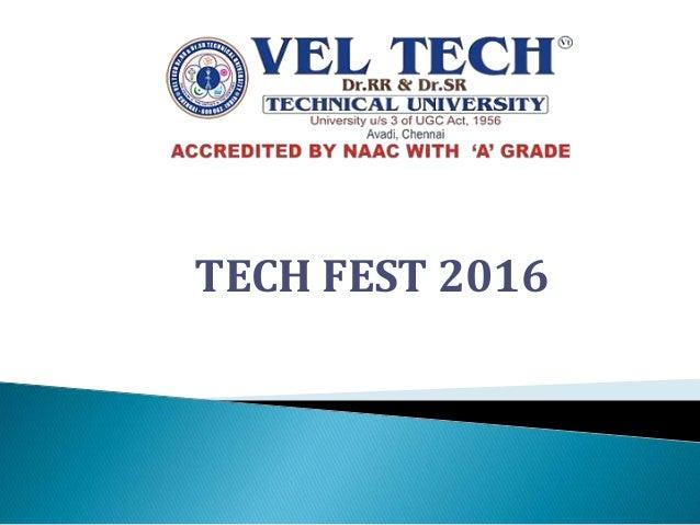 TECH FEST 2016