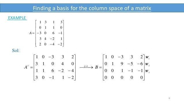 what is rank of a matrix pdf