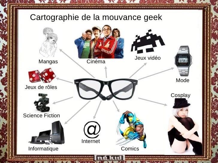 <ul><ul><li>Cartographie de la mouvance geek </li></ul></ul><ul><ul><li>Mangas </li></ul></ul><ul><ul><li>Jeux vidéo </li>...
